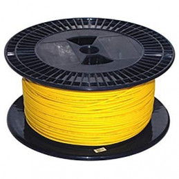 Fibra Optica Monomodo Indoor 1 Fibra G652D 9/125um Yellow Single-core X Metro Single Mode Chaqueta PVC
