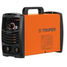 Maquina de Soldar Inversor Soldadoras 15 - 200A SMAW TIG, Incluye PortaElectrodo Careta y Cepillo, SOIN-130/200 16053 Truper