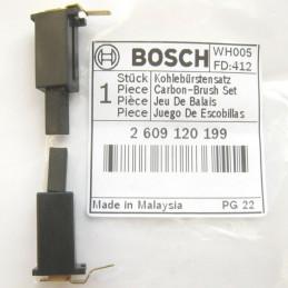 Carbones de Repuesto GSR GSS GST, Bosch 2609120199