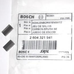 Carbones de Repuesto GST 120 135 150 600 90 STP 120, Bosch 2604321941