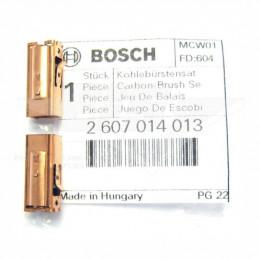 Carbones de Repuesto PSB 450 500 550 650 GSB 16 1600, Bosch 2607014013