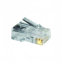 Conector Rj45 Nexxt AW102NXT01 100Unidades Chapado Oro 30u