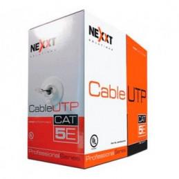 Cable UTP Nexxt AB355NXT07 Exterior Cat5e 24AWG Bobina 305M Tipo CMX