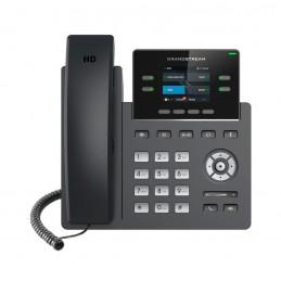 "Telefono IP GRANDSTREAM GRP2612P, 2 líneas, LCD 2.4"" color, RJ-45 Gigabit PoE"