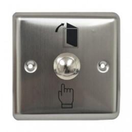 Boton de Salida Zkteco EX-801B empotrable Apertura de Puerta Universal