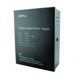 Fuente de alimentacion Respaldo Zkteco PS902B 12V 2A Sin Bateria 12V 7Ah