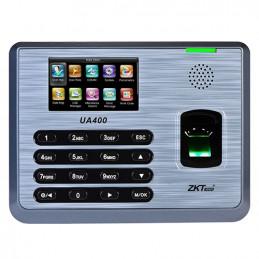 Control de Asistencia IP Zkteco UA400/ID TFT3 3000 Huella Digital 100,000 Registros TCP/IP USB SMS