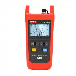 PON Power Meter Medidor de Potencia Fibra Optica UNI-T UT-692D FC SC ST 800-1700nm IP65