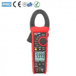 Pinza Amperimetrica Digital UNI-T UT-219E AutoRango True RMS ACDC1000V AC600A Resistencia Capacitancia Frec Diodo Continuidad