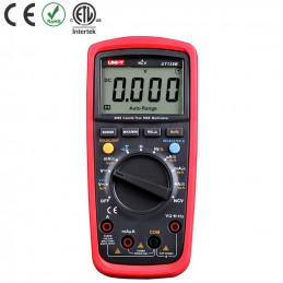 Multimetro Digital UNI-T UT-139B NCV Autorango True RMS ACDC600V 10A Resistencia Diodo Continuidad