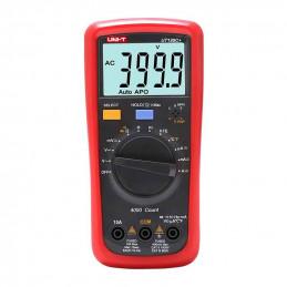 Multimetro Digital UNI-T UT-136C+ NCV ACDC1000V 10A Resistencia Capacitancia Frec Temp hFE Continuidad Diodo