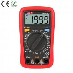 Multimetro Digital UNI-T UT-131B ACDC250V 10A Resistencia Diodo Continuidad