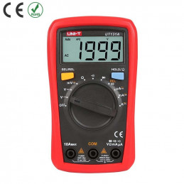 Multimetro Digital UNI-T UT-131A Autorango ACDC250V 10A Resistencia Capacitancia Diodo Continuidad