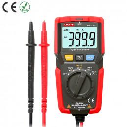 Multimetro Digital UNI-T UT-125C NCV ACDC600V Resistencia Capacitancia Frec Continuidad Diodo