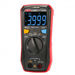 Multimetro Digital UNI-T UT-123 NCV Autorango ACDC600V Resistencia Temp Frec