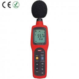Decibelímetro Digital UNI-T UT-352 LCD Medicion Sonido en el diapasón 30-130dB