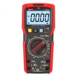 Multímetro Digital UNI-T UT-89XD NCV True RMS ACDC1000V 20A Resistencia Capacitancia Frec Diodo Continuidad