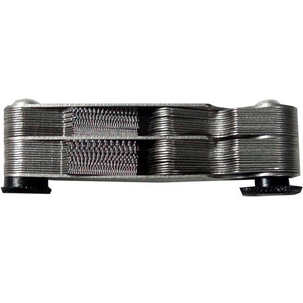 Calibrador de Hilos Roscas Tipo Peine Galgas Black Cross Whitworth Metrisch 55/60 52pcs MM y Pulgadas