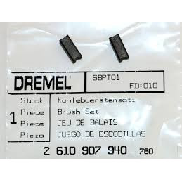 Carbones de Repuesto Dremel Digital 398 400, Dremel 2610907940