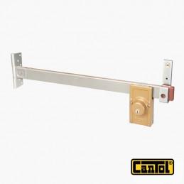 Cerradura Tranca Cantol Y-754 Dorado Metalizado 3Llaves Pprincipal Madera