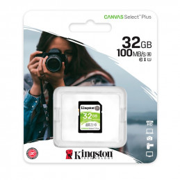 Memoria Card SD Kingston Canvas Select Plus, 32 GB, UHS-I Speed Class 1 (U1)