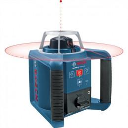 """Nivel Laser Giratorio Bosch GRL 300 HV PROF, 5/8"""" 300m con receptor, líneas precisas y nítidas con Accesorios"""