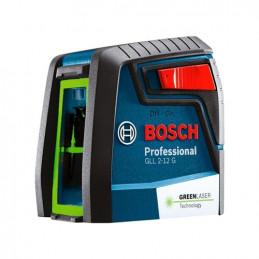 Nivel Laser de Lineas Bosch GLL 2-12G Verde Sencillo y compacto para un entorno luminoso