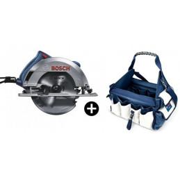 """Sierra Circular Bosch GKS 150 Profesional 7 1/4"""" - 184mm 1500W con Bolso"""