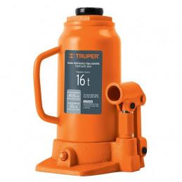 Gata de Botella 16 Toneladas, Con Tornillo de Extension, Altura Max 475 mm, GAT-16 14820 Truper