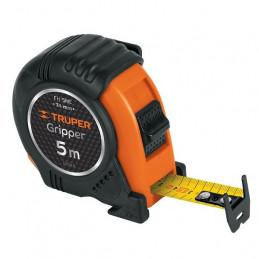 Wincha Flexometro Griper 5M con TPR, cinta medicion ambos lados, carcasa ABS, FH-5ME 15388 Truper