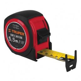 Wincha Flexometro Compactas 5.5M con TPR, cinta medicion ambos lados, carcasa ABS, FCG-55M 12773 Truper