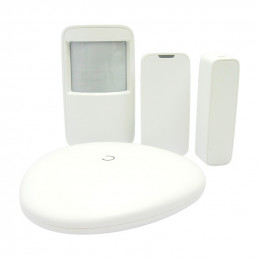 Kit de alarma de seguridad Advance ART-ARC2000B-03, wifi, detector, control remoto.