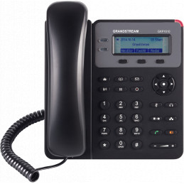 Telefono IP - Grandstream GXP-1610, 1 líneas, LCD 132X48, 2 RJ-45 10/100, altavoz, Audio HD