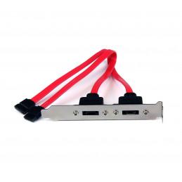 Kit de cables PCI eSATA HP GM110AA, para convertir 2 puertos SATA internos en externos