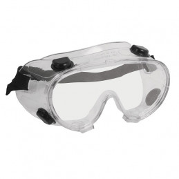 Goggles de Seguridad, 100% Policarbonato con UV Antirayadura, 4 Valvulas de Ventilacion, GOT 14220 Truper