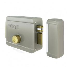 Cerradura Electrica Forte DER Sin Boton 12V 5Pines 3LLaves
