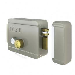 Cerradura Electrica Forte DER con Boton 12V 5Pines 3LLaves