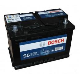Bateria Automoviles Bosch S575E 13Placas 75AH + - RC115m CCA550 27.7x17.4x17.5cm