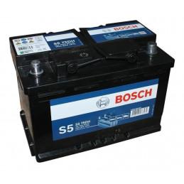 Bateria Automoviles Bosch S575D 13Placas 75AH - + RC120m CCA680 27.8x17.5x17.5cm