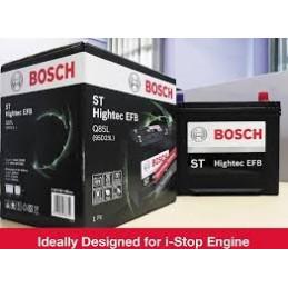 Bateria Automoviles EFB Bosch Q85 (95D23L) 13Placas 65AH - + RC115m CCA620 23.2x17.3x22.5cm