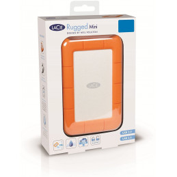 Disco Duro Externo LaCie Rugged Mini 1TB 5400rpm USB 3.0