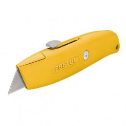"""Navaja Multiusos cuchilla retractil 6"""", Incluye 4 cuchillas de repuesto, NM-6P 22400 Pretul"""