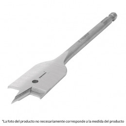 "Broca Mecha Plana 1-1/2"" 38.1 mm Zanco 1/4, BPT-1-1/2 11393 Truper"