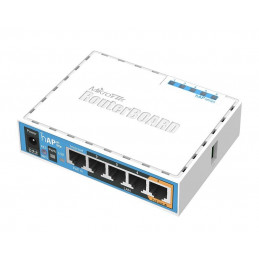 Router Mikrotik HAP AC LITE - RB952UI-5AC2ND 5Port 10/100 Dual Band 802.11ac PoE-out USB