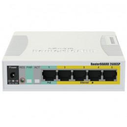 Router Mikrotik RB260GSP CSS106-1G-4P-1S 5Port Gigabit 1SFP SwOS