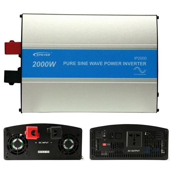 Inversor Epever IP2000-22 2000W 24V Covertidor sinusoidal Onda Pura