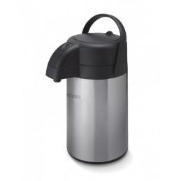 Termo Bomba Sifon 2.2L Acero Inox Bomba Succion Ampolla de Vidrio, 2108000004 Record