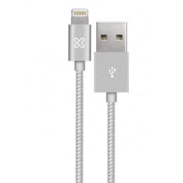 Cable Lightning Klip Xtreme KAC-010GR 1M Conector USB para Apple Gray