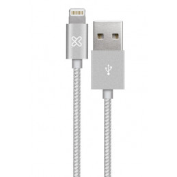 Cable Lightning Klip Xtreme KAC-001SV 0.5M Conector USB para Apple Silver
