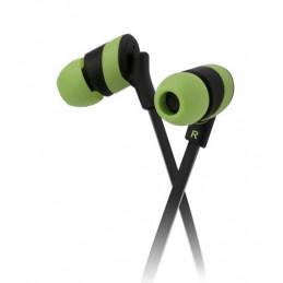 Auriculares In-ear Klip Xtreme KHS-625GN KolorBudz 3.5mm 1.2M Verde